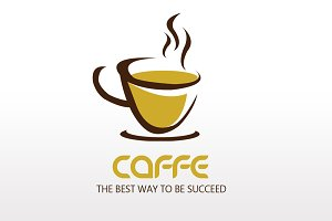 Cafe' Logo Type