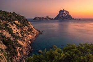 Ibiza, Spain. Es Vedra Islands
