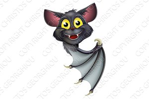 Halloween Bat Pointing