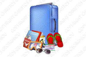 Trolley case and packing