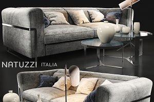 Sofa natuzzi fidelio 2907