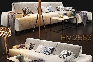 Sofa natuzzi Fly 2563