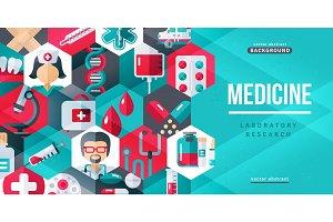 Medical creative banner