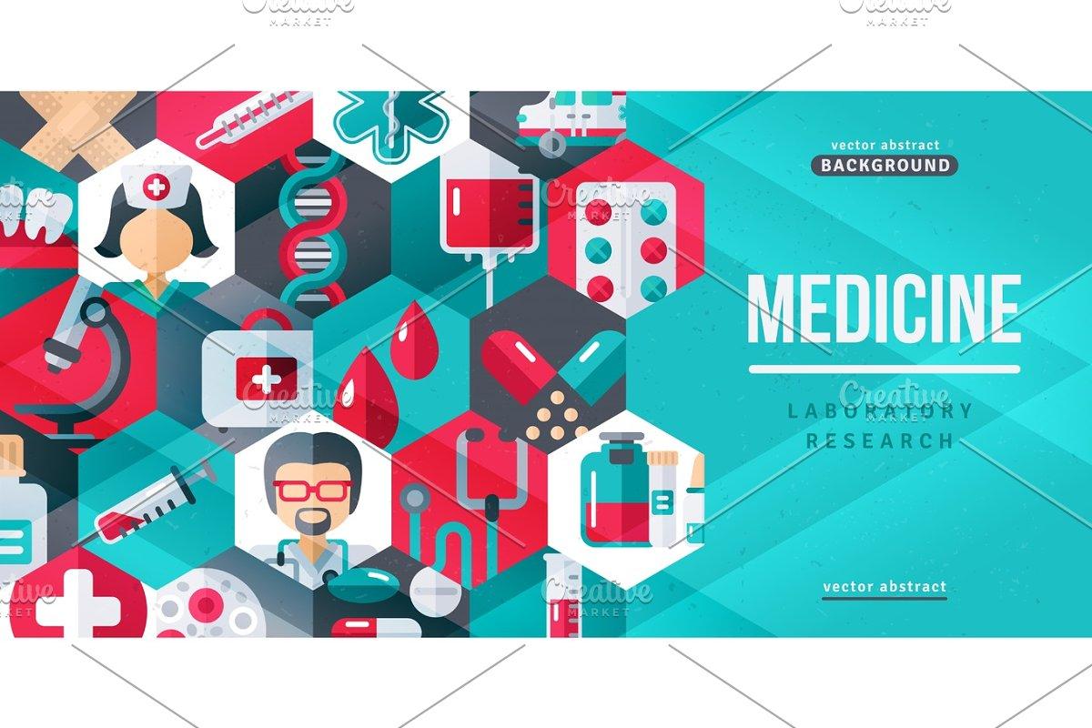 Medical Creative Banner Illustrations Creative Market