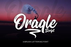 Oraqle Script Font