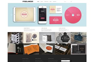 Freelancer Theme WordPress