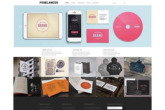 Freelancer Theme WordPress
