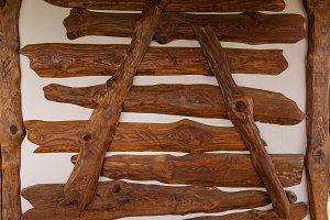 wooden texture of doors and boards