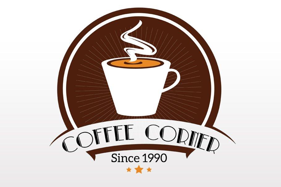 Coffee Corner Logo Type