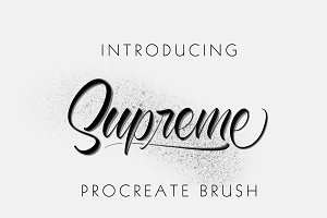 Supreme Procreate Brush