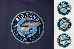 Yellowfin Tuna Logos