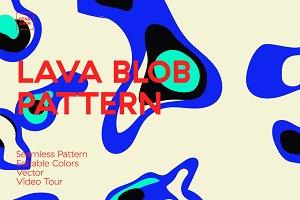 Lava Blob Pattern
