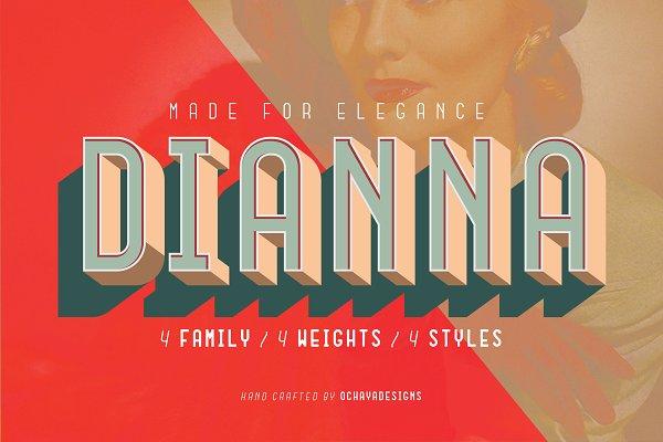 Best Dianna - Made for Elegance Vector
