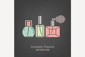 Cosmetic Flacons Icon