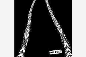 Tire Tracks Image