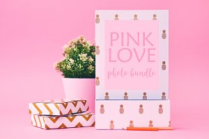 Pink Love Photo Bundle