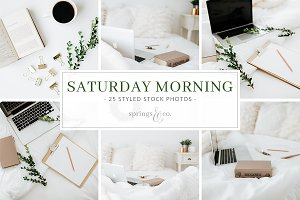 Saturday Morning Stock Photo Bundle