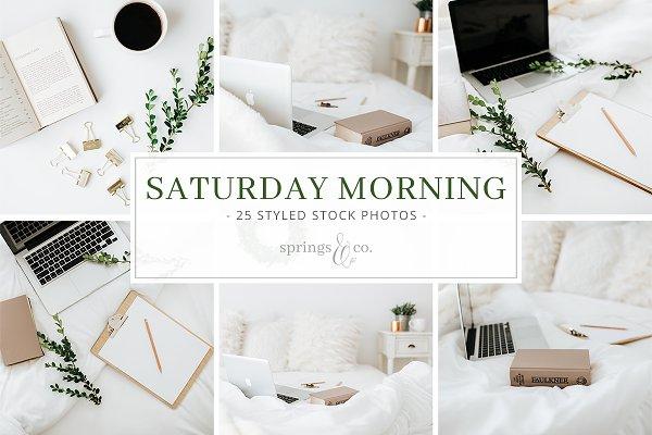 Saturday Morning Stock Photo Bundle