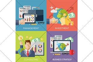 management web banners
