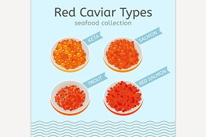 Red Caviar Types