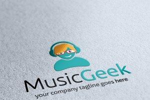 Music Geek Logo