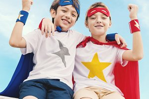 Superhero Boys Brave Imagination