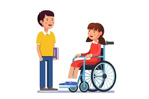 Handicapped person socialization