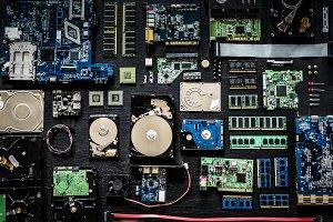Electronics computer components