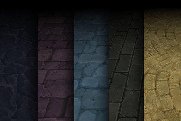 3D Textures: Bitgem - Texture Pack 01
