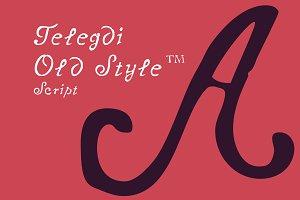 Telegdi Old Syle  _Script