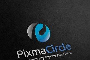 Pix Circle Letter P Logo