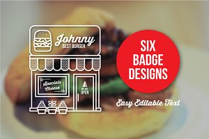 6 Store Badges