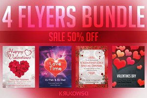 Love Flyers Valentine Bundle