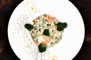 Olivier Russian Salad