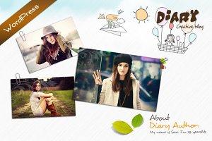 Diary - WordPress Theme