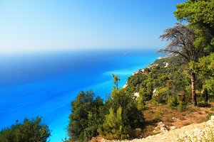 Beautiful Sea view in Lefkada,Greece