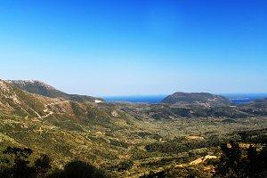 Beautiful View in Greece