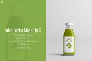 Juice Bottle Mock-Up 6