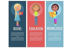 Reading Book Gives New Knowledge and Education