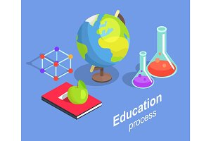Educational Process Collection Scientific Objects