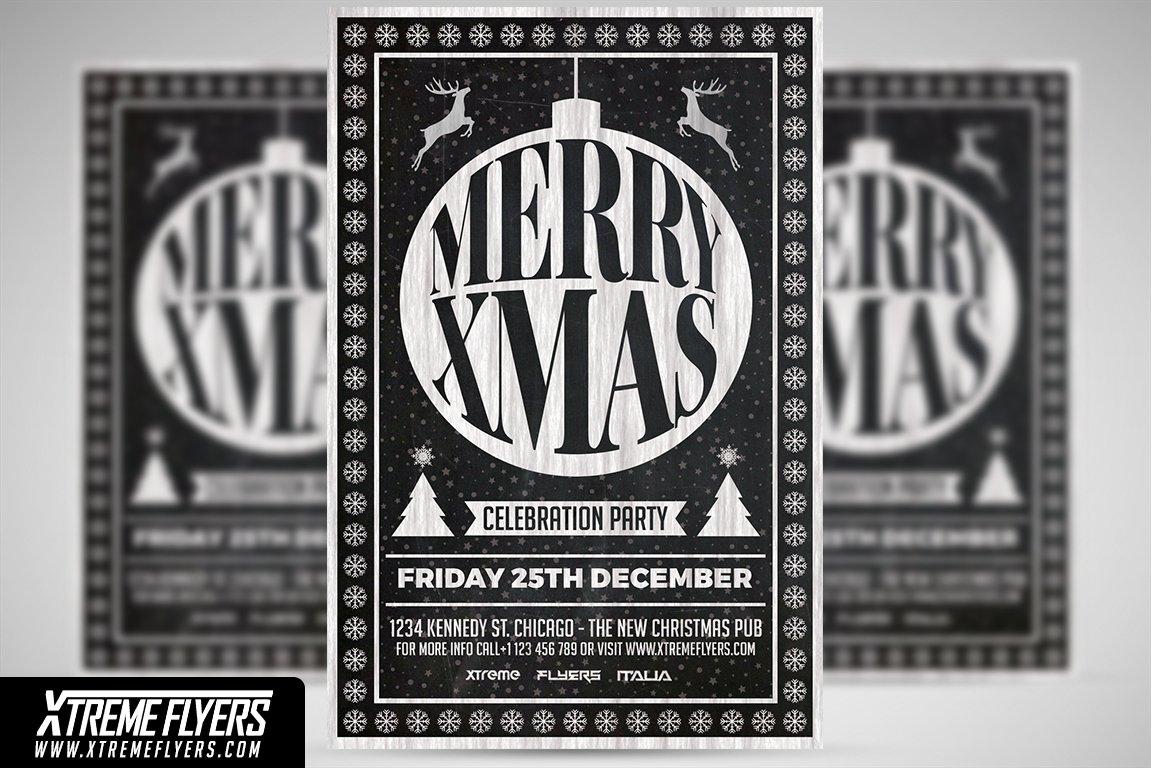 Christmas Flyer Templates Flyer Templates Creative Market