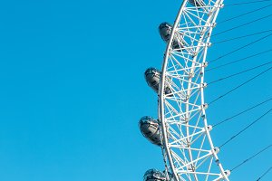 Wheel London Eye capsules