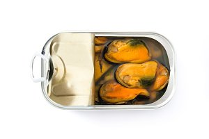 Mussels can preserves