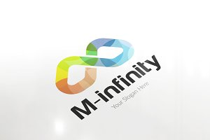 Letter M / W Infinity Logo