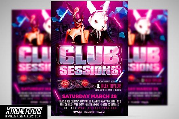 Club Flyer Template