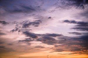 outdoor cloudy sky