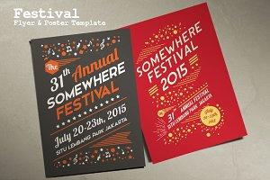 Festival Flyer & Poster Template