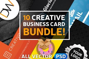 10 Creative Business Card Bundle!