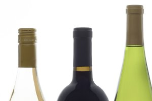 Wine Bottles - Facebook Banner