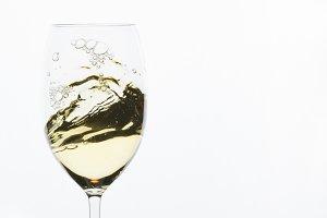 White Wine Swirl